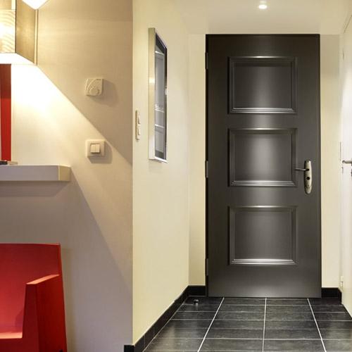 Puerta acorazada fichet forstyl puerta de entrada para - Puertas de chalet ...