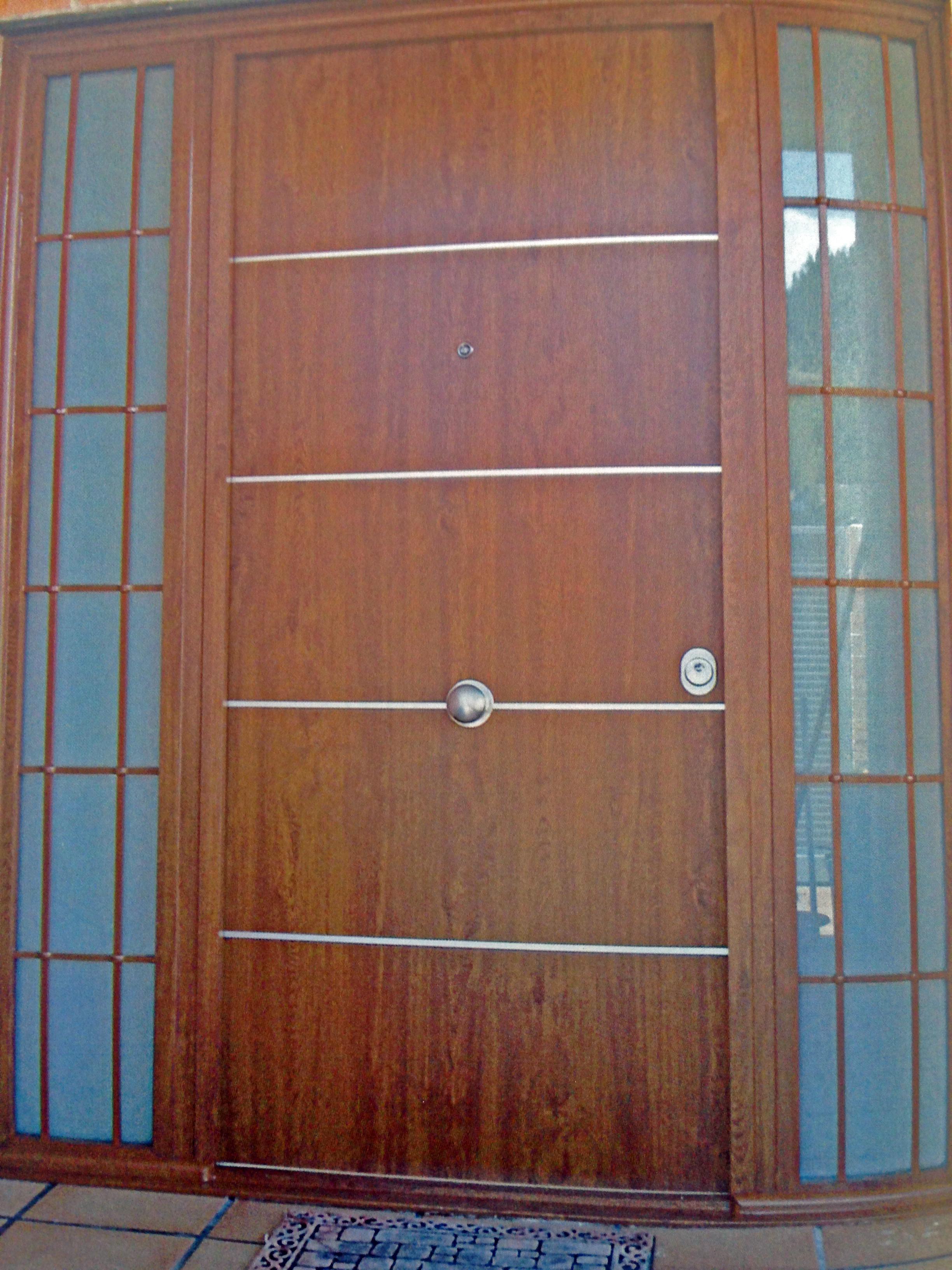 Puertas Acorazadas Continox 2000 Madrid Marrón