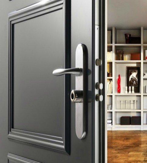 Puertas Acorazadas Fichet Forstyl HIS para Chalet Continox Madrid