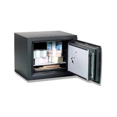 Caja Fuerte Fichet Bauche Cómplice G0 Teclado Frontal abierta