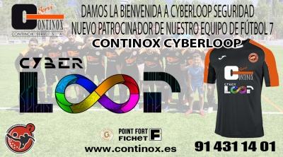 Continox Cyberloop líder de la Liga de Fútbol 7 de Madrid