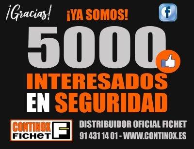 Ya somos 5000 interesados en seguridad – Facebook Continox Fichet