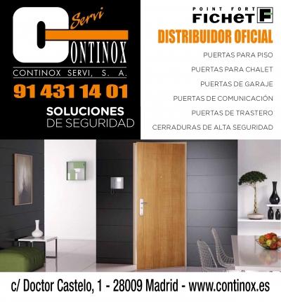 Continox Fichet Madrid Soluciones de Seguridad