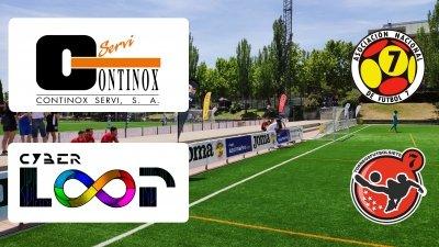 Los equipos de Fútbol 7 de Continox arrasan en cada una de sus Ligas de Madrid