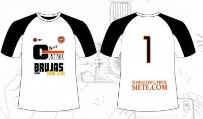 Nuevas camisetas para nuestro equipo Continox Brujas Pozuelo