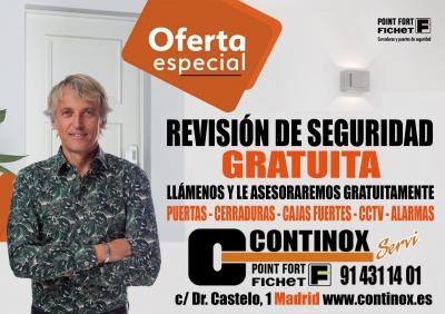¿Te inquieta la seguridad en tu hogar o negocio? Pide Revisión Gratuita de Seguridad en Continox Fichet Madrid