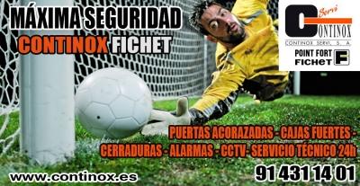 Arranca la Liga de Fútbol 7 para el Continox Seguridad ganando 5-0