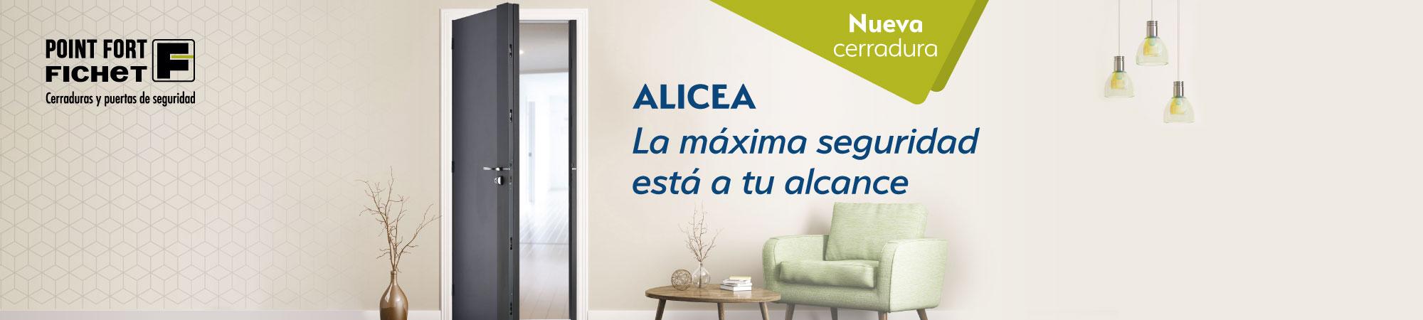 Cerraduras Fichet Alicea en Madrid Continox Fichet