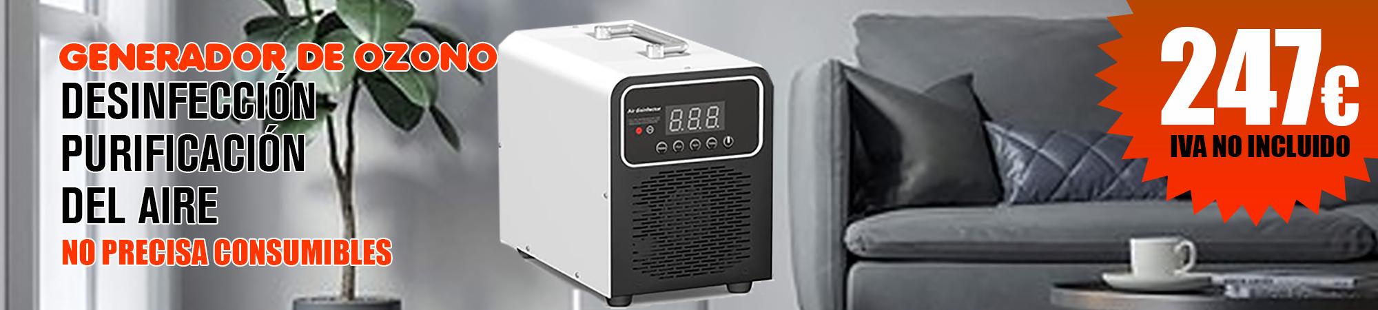 Generador de ozono GEN-0Z05 para desinfección y purificación del aire