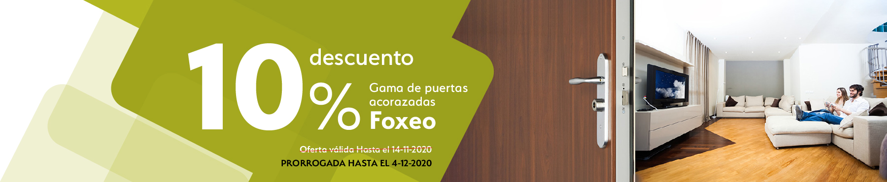 Oferta descuento Puertas Foxeo COntinox Fichet