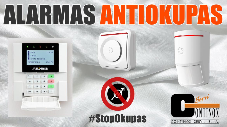 Alarmas antiokupas en Madrid. Evite una ocupación y asegure su tranquilidad