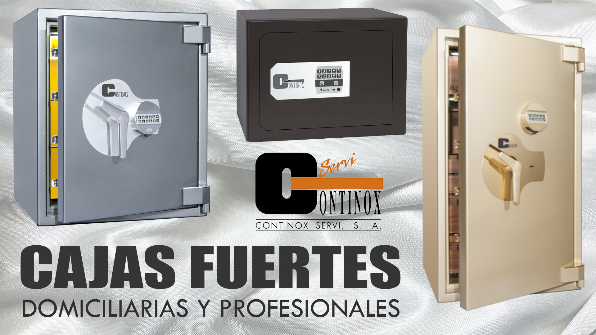 Cajas Fuertes en Madrid. Tienda de Cajas Fuertes en Madrid Cajas Fuertes Fichet Continox