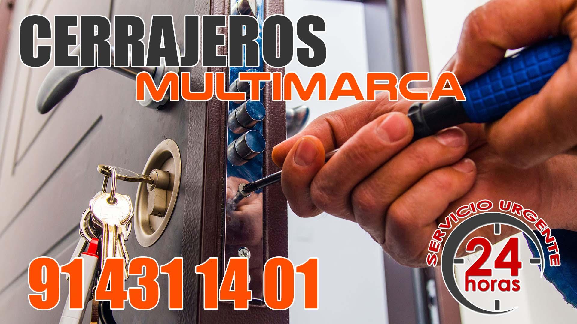Cerrajeros en Madrid Multimarca Fichet Kiuso Continox