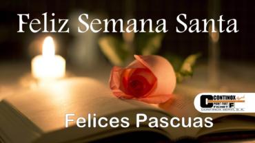 Continox os Desea una Feliz Semana Santa 2021
