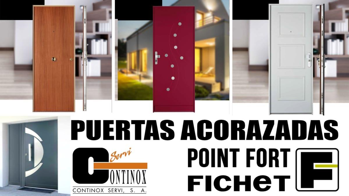 Puertas Acorazadas Fichet en Madrid