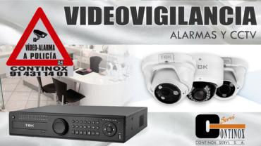 La videovigilancia evita robos y okupas