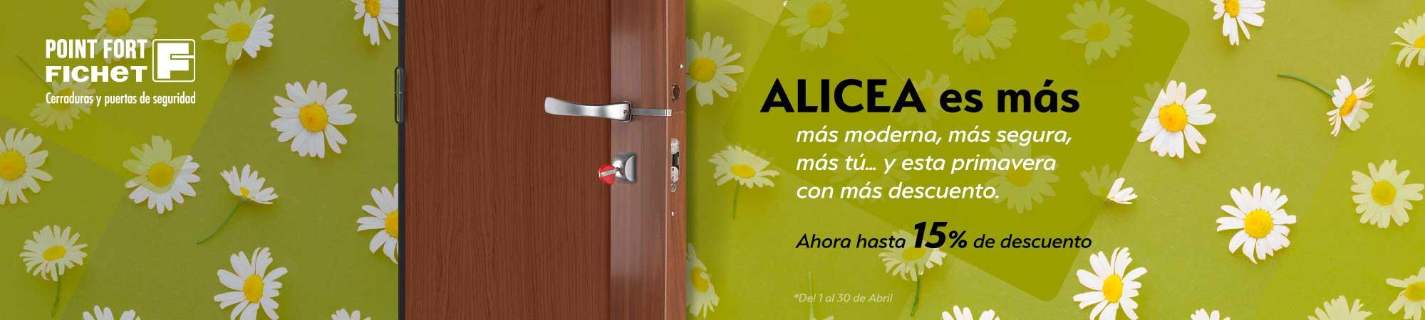 Oferta Cerradura Fichet Alicea Madrid
