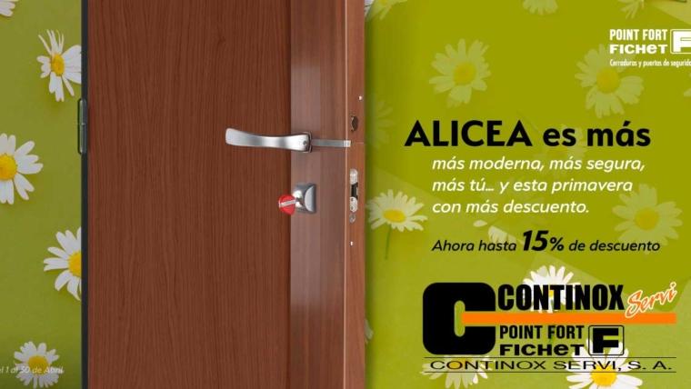 Nueva oferta: Descuento hasta 15% en Cerraduras Fichet Alicea
