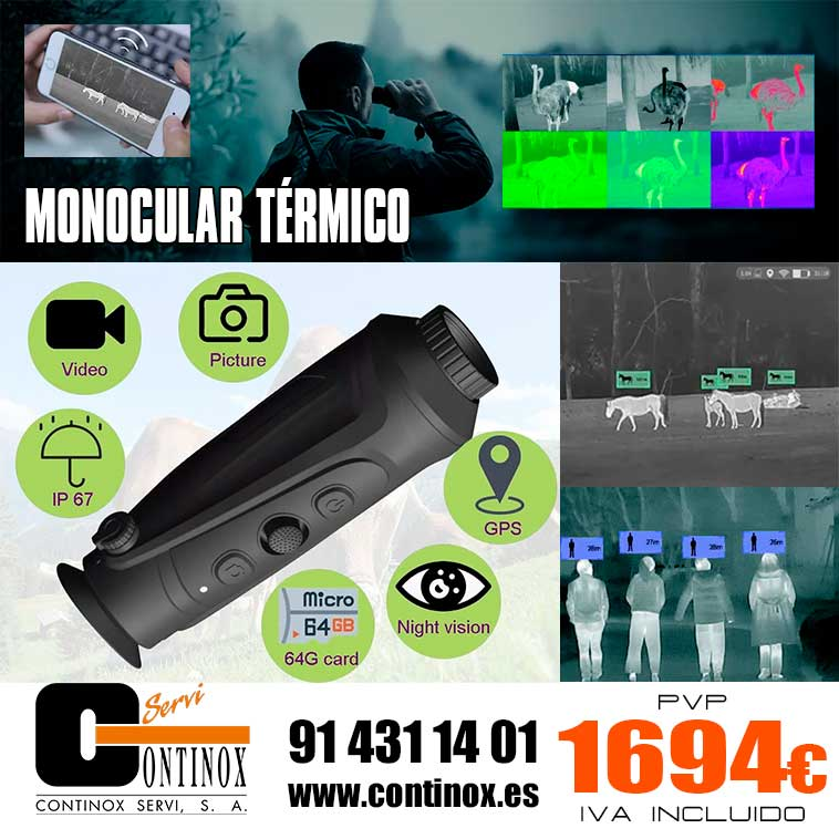 Monocular Térmico Thermeye Cyclops 335